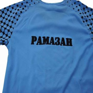 Вышивка на футболках Рамазан