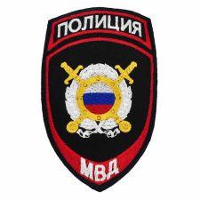 Шеврон МВД Охрана общественного порядка