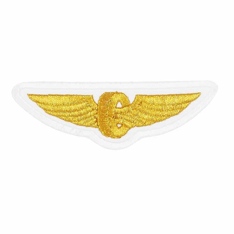 Нашивка РЖД крылья белые