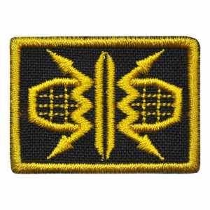Петлица нашивка шеврон радиотехнические войска ВВС желтый купить