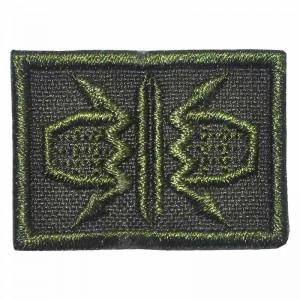 Петлица нашивка шеврон радиотехнические войска ВВС зелёный купить