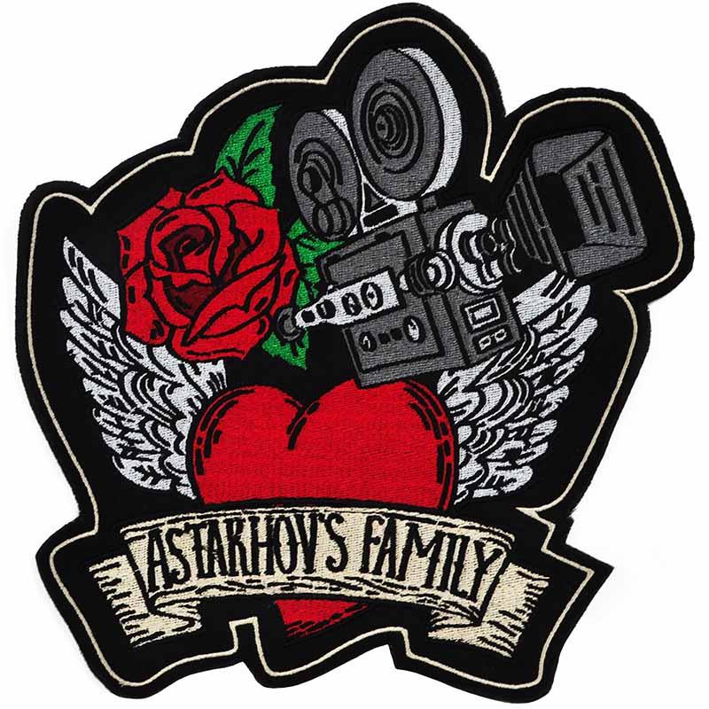 Нашивка Роза для семьи Астаховых