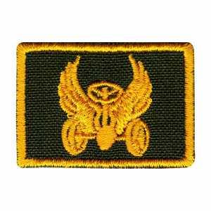 Петлица Автомобильные войска жёлтый
