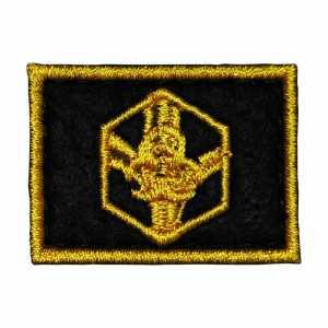Петлицы РХБЗ Войска радиационной, химической и биологической защиты полевые